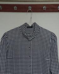 Skjorte – Hanefjed – Sort og Hvid – 80's – Vintage – Genbrug – Trend – Mie Arida – Detaljer