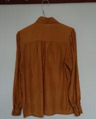 Skjorte – Silke – Feminin – Karry – Vintage – Genbrug – Trend – Mie Arida – Bagfra