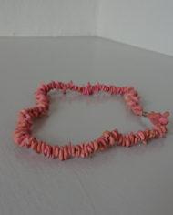Halskæde – Koral – Retro – Vintage – Genbrug – Trend – Mie Arida – Forfra