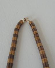 Halskæde – Metal Perler – Messing – Kobber – Retro – Vintage – Genbrug – Trend – Mie Arida – Detalje