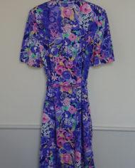 Kjole – Blomstret – Jersey – Kittel – Lommer – Retro – Vintage – Genbrug – Trend – Mie Arida – Bagfra