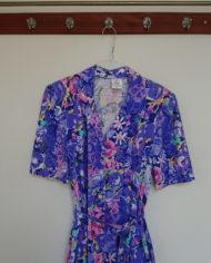 Kjole – Blomstret – Jersey – Kittel – Lommer – Retro – Vintage – Genbrug – Trend – Mie Arida – Detaljer