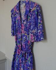 Kjole – Blomstret – Jersey – Kittel – Lommer – Retro – Vintage – Genbrug – Trend – Mie Arida – Siden