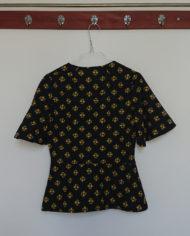 Sæt – Bluse – Bomuld – Blomster – 70erne – retro – Vintage – Genbrug – Trend – Mie Arida – Bagfra