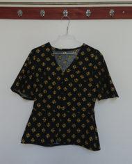 Sæt – Bluse – Bomuld – Blomster – 70erne – retro – Vintage – Genbrug – Trend – Mie Arida – Forfra