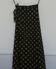 Sæt – Nederdel – Slå Om – Bomuld – Blomster – 70erne – retro – Vintage – Genbrug – Trend – Mie Arida – Bagfra