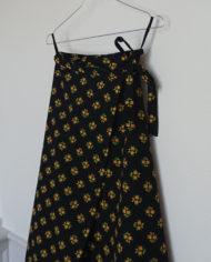 Sæt – Nederdel – Slå Om – Bomuld – Blomster – 70erne – retro – Vintage – Genbrug – Trend – Mie Arida – Siden