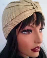 Turban –  Guld – Trend – Hat – Unik – Skræddersyet 4