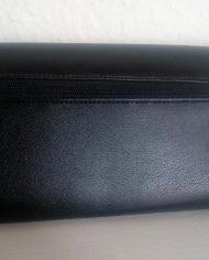 Retro – Clutch – Håndtaske – Sort – Vintage – Genbrug – Bagfra