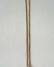 Halskæde – Guld – Medaljon – Marmor – Mint – Retro – Genbrug – Trend – Mie Arida – 1