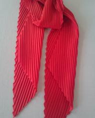 Tørklæde – Plisse – Orange – Retro- Genbrug – Trend – Mie Arida