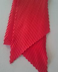 Tørklæde – Plisse -Ornage – Retro – Genbrug – Trend – Mie Arida – For