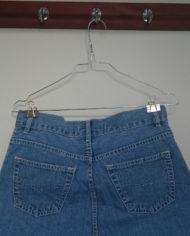Nederdel – Denim – Lårkort – Gennemknappet – 90's – Retro – Genbrug – Trend – Mie Arida – Detalje