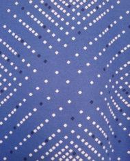 Kittelkjole – Mønstret – Halskæde – Perlemor – Bælte – 80'er – Retro – Genbrug – Trend – Mie Arida – Nærbillede