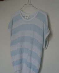 Bluse – Strik – Stribet – 80'er – Retro – Genbrug – Trend – Mie Arida – Siden