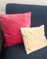 Pude – Velour – Upcycled – Genbrug – Trend – Mie Arida 2