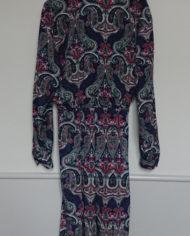 Kjole – Slå om effekt – Paisleymønster – Vintage – Genbrug – Trend – Mie Arida – Bagfra