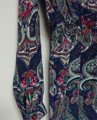 Kjole – Slå om effekt – Paisleymønster – Vintage – Genbrug – Trend – Mie Arida – Detaljer