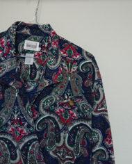 Kjole – Slå om effekt – Paisleymønster – Vintage – Genbrug – Trend – Mie Arida – Detaljer 2
