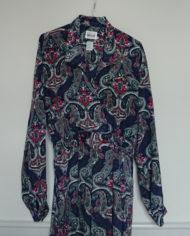 Kjole – Slå om effekt – Paisleymønster – Vintage – Genbrug – Trend – Mie Arida – Forfra 2