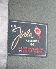 Frakke – Uld – Hellang – Mink – Uld – Quilt – 60'erne – Vintage – Genbrug – Trend – Mie Arida – Nærbillede 4