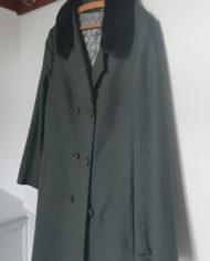 Frakke – Uld – Hellang – Mink – Uld – Quilt – 60'erne – Vintage – Genbrug – Trend – Mie Arida – Siden