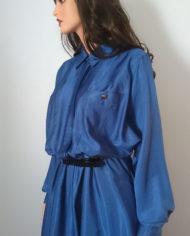 Skjortekjole – Flagermusærmer – Oversize – 80'erne – Retro – Genbrug – Trend – Mie Arida – Model 2