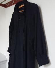 Frakke – Uld – Hellang – Dame – Marineblå – Vintage – Genbrug – Trend – Mie Arida – Siden