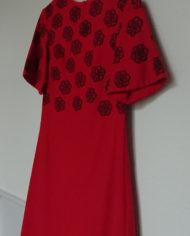 Kjole – Uld – Håndtrykt – 60's – Retro – Genbrug – Trend – Mie Arida – Siden