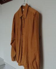 Skjorte – Silke – Feminin – Karry – Vintage – Genbrug – Trend – Mie Arida – Siden