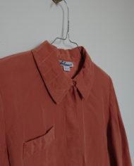 Skjorte – Silke – Quilt – Pudder – Vintage – Genbrug – Trend – Mie Arida – Detaljer