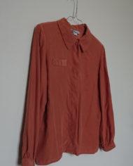 Skjorte – Silke – Quilt – Pudder – Vintage – Genbrug – Trend – Mie Arida – Siden