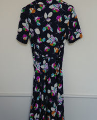 Kjole – Plisse – Blomstret – Sommer – Retro – Vintage – Genbrug – Trend – Mie Arida – Bagfra