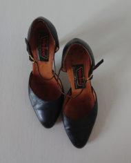 Sko – Pumps – Mary Janes – Læder – Vintage – Genbrug – Trend – Mie Arida – Oppefra