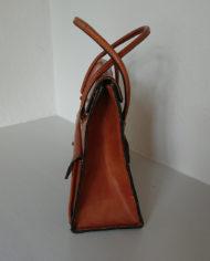 Taske – Kernelæder – Skoletaske – Monogram – Retro – Vintage – Trend – Mie Arida – Siden