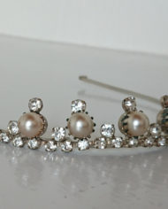 Tiara – Simili – Perler – 50's – Vintage – Genbrug – Trend – Mie Arida – Siden