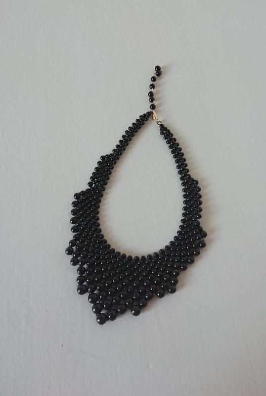 plastik halskæde