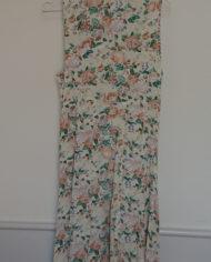 Kjole – Gennemknappet – 90s – Blomstret – Trend – Retro – Vintage – Genbrug – Trend – Mie Arida – Bagfra