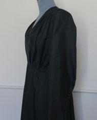 Kjole – 40'erne – Skræddersyet – Sildeben – Smock – Vidde – Skulderpuder – Retro – Vintage – Genbrug – Trend – Mie Arida – Siden