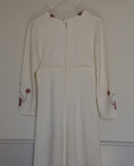 Kjole – Blomster _ Krave – Faconsyet – 70's – Retro – Vintage – Genbrug – Trend – Mie Arida – Bagfra