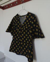 Sæt – Bluse – Bomuld – Blomster – 70erne – retro – Vintage – Genbrug – Trend – Mie Arida – Siden