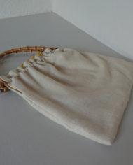 Taske – Bambushåndtag – Uld – Broderi – Forår – Vintage – Genbrug – Upcycled – Trend – Mie Arida – Bagfra